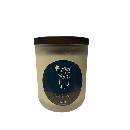 Fire and Ice Candle